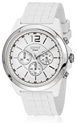 Esprit Chronograph White Dial Mens Watch - ES106401001-N