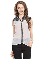 Ceylin Plain Shirt Large