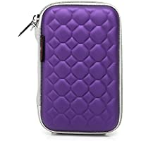 Hard Drive Disk Protective Zipper Carrying Shell Case Cover Bag For 2.5 Inch Portable External Hard Drive Purple... - B01GJNO9O4