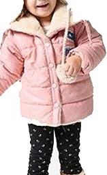 Baby Winter Coat Thick Clothes Faux Fur Lapel Kids Warm Jacket Outwear Snowsuit