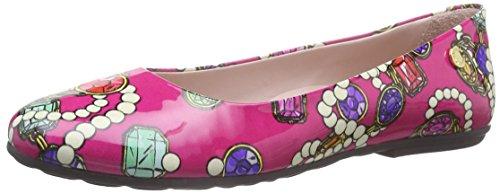 Moschino 25732 - Ballerine da ragazza, variopinto (pink 9102), 39