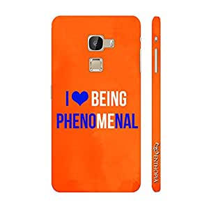 Enthopia Designer Hardshell Case I love being phenomenal Back Cover for Letv Le Max