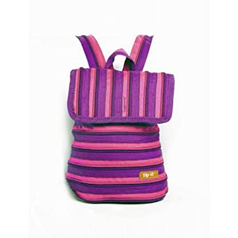 Zip It Scout (ZBP) - Toddlers' Backpack - Pink / Purple
