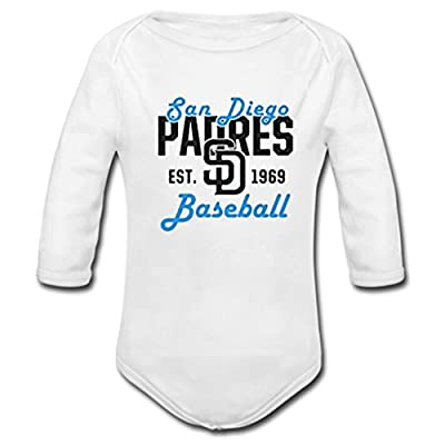 Opp-l San Diego Padres diy Baby Long Sleeve clothes