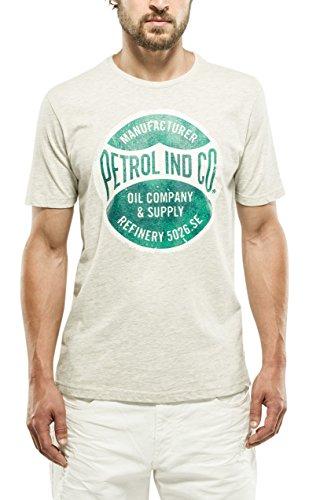 Petrol Industries T-Shirt SS R-Neck, Maglia a Maniche Corte Uomo, 920, L