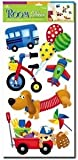 e baby store Toy Box Toybox Dog Car Bike Bicycle Wall Furniture Stickers For Nursery Childrens Baby Childs Kids Boys Girls Bedroom Playroom Decals Stickarounds Murals Wallpaper Adhesives