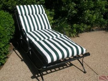 Chaise Lounge Patio Cushions   Classic Design