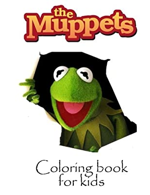 Coloring book for kids Muppets: Muppets coloring book for kids. 55 pages of coloring fun. Great Christmas and birthday gift.