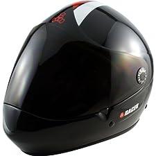 T8-Racer Downhill Longboard Helmet L/Xl [Black]