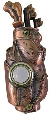 Company's Coming DBZ-015 Golf Bag Bronze Doorbell Cover