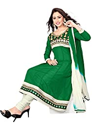 Varanga Green Exclusive Dress Material KFJLS1001