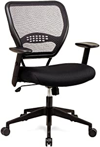 buy office star 5500 space air grid mid back swivel