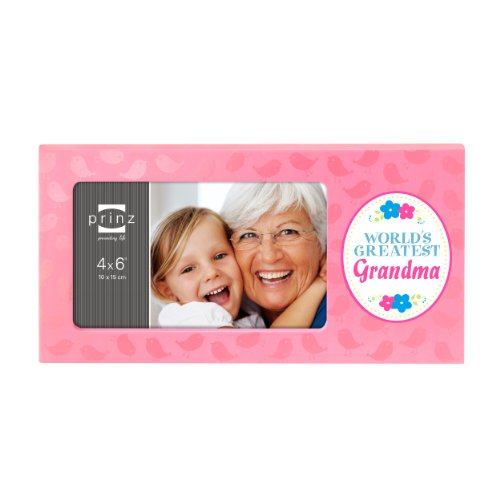 Prinz Worlds Greatest Grandma 6-Inch by 4-Inch Frame