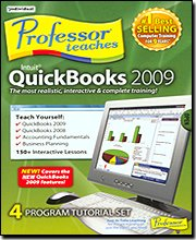 Professor Teaches Quickbooks 2009