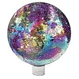 Very Cool Stuff Mosaic Glass, 10-Inch, Purple/Multi