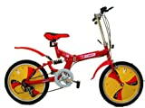 Bestco Folding Bike,20″ Wheels,5 Speeds – RED
