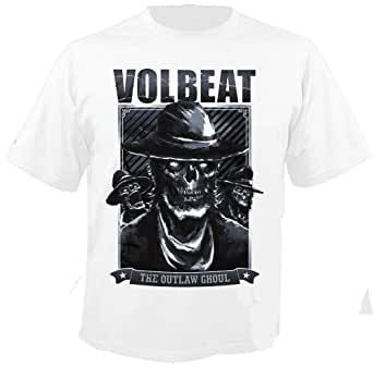 VOLBEAT - Outlaw Frame - White - T-Shirt Größe XXL