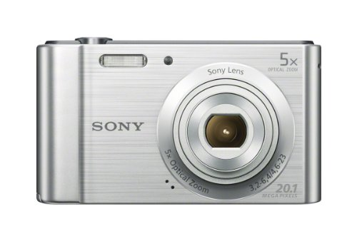 Review Sony W800/S 20 MP Digital Camera (Silver)