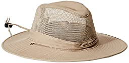 DPC Outdoors Solarweave Treated Cotton Hat, Camel, Small