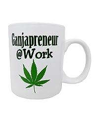 16oz Funny High Quality Coffee Mug ~ Pug on a Mug ~ Smokers Ash Tray Mug ~ I