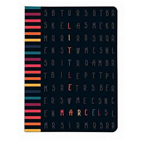 Exacompta: Little Marcel: portalistino A4-40facciate-Lettere