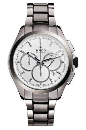 Rado R32276102 Watch Hyperchrome Mens - Silver Dial Stainless Steel Case Automatic Movement