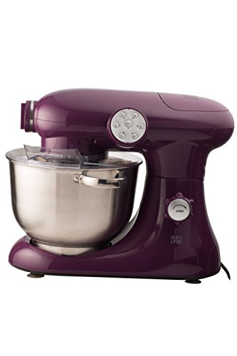 For Sale! EuroPrep EP700 7-Quart 6 Speed Stand Mixer, Planetery Action with Stainless Steel Bowl (Bo...