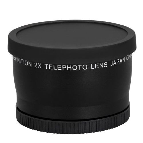Dtw 58Mm 2X Telephoto Lens For Canon, Nikon, Olympus, Sony, Pentax