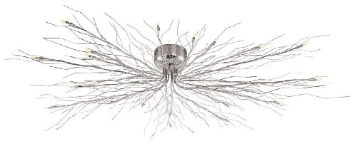 Access Lighting 55506-CH Semi Flush Ceiling Light Chrome