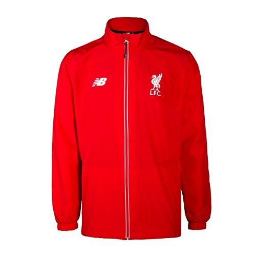 NEW BALANCE da uomo Liverpool FC Formazione Giacca da pioggia, Uomo, Liverpool FC Training Rain, rosso, S