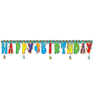 Happy Birthday Banner from US Toy Company