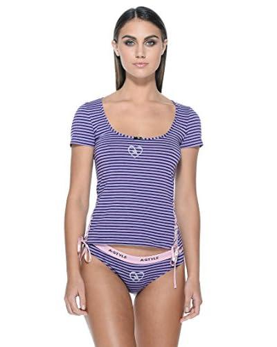 A-Style T-Shirt [Viola]
