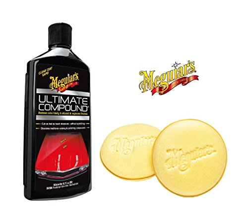 pratique vernis kit d entretien meguiar s nettoyant ultimate compound 450 ml ponge auftrags. Black Bedroom Furniture Sets. Home Design Ideas