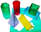 HenBea - Formas geométricas transparentes (861)