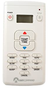 AnyCommand Universal Air Conditioner AC Remote Control ACR-20 with LCD Display