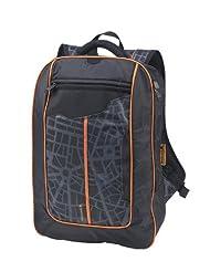 Fastrack Polyester Black Laptop Bag (AC003NBK01AB)