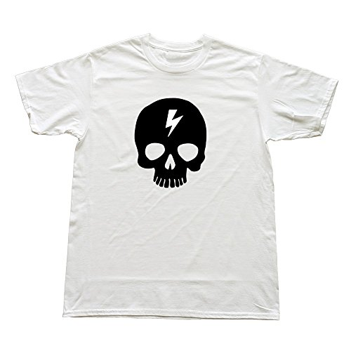 100% Cotton Love Skull T Shirts For Men'S - Round Neck front-961752