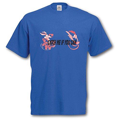 roadrunner-wile-e-coyote-t-shirt-and-keyring-giftset-medium-royal-blue