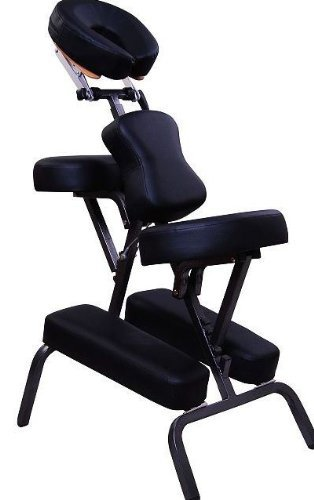 Aosom-3-Foam-Portable-Massage-Chair-Tattoo-Chair-Spa-Chair-Black