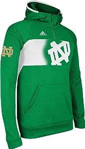 Notre Dame Fighting Irish Adidas 2013 Sideline Climawarm Sweatshirt - Green by adidas