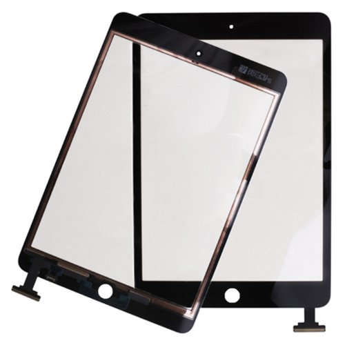 """Hde Ipad Mini 7.9"""" Digitizer Touch Screen Replacement Parts W/ 7-Piece Tool Kit & Adhesive Tape (Black)"""