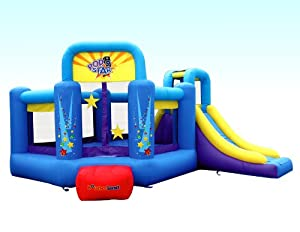 Bounceland Pop Star Inflatable Bounce House Bouncer by Bounceland