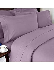 twin extra long solid microfiber sheet set lilac lilac sheets twin xl. Black Bedroom Furniture Sets. Home Design Ideas