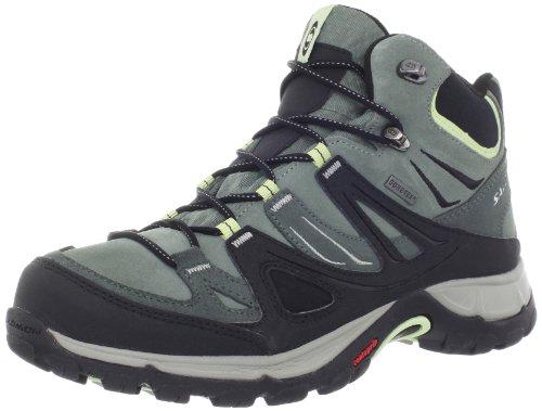 Salomon Women'S Ellipse Mid Gtx Hiking Boot,Green Tea,9.5 M Us