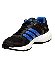 Adidas Men's Galba Black And Blue Running Shoes