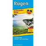 Radwanderkarte Rügen: Mit Ausflugszielen, Einkehr- & Freizeittipps, reißfest, wetterfest, abwischbar, GPS-genau. 1:75000: Mit Ausflugszielen, Einkehr- & Freizeittipps, GPS-genau
