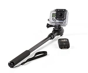 GoScope - GoPro® HERO3 Telescoping Pole / Monopod: Expands 21