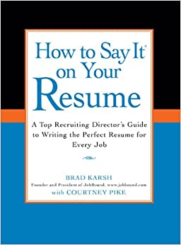 how to say it on your resume a top recruiting directors