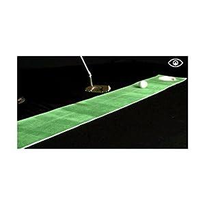 Eyeline Golf Perfect Line Mini Putting Mat, 8-Inch x 9-Feet