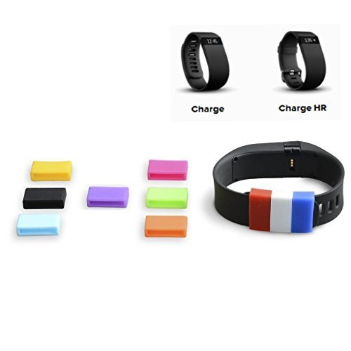 The DigiHero 10 Colors Silicone Fasteners for FITBIT Charge / FITBIT Charge HR Wristband (10 pcs / pack ) Model: DH150002